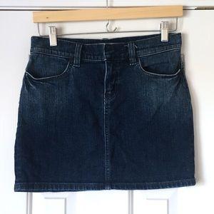 Classic Gap mini denim Jean skirt